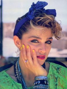 80's Picture of Madonna