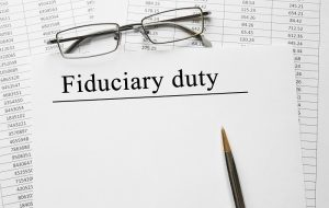 A financial professional held to the fiduciary standard is legally obligated to recommend products based on the best interest of his or her client.