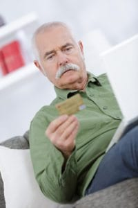 According to a recent survey, about two-thirds of adults age 70 and older fall for online scammers.
