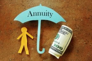 Economic factors and the stock market fluctuate, but a guaranteed income annuity does not.